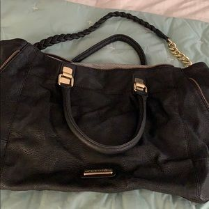 Steve Madden black purse 18x12